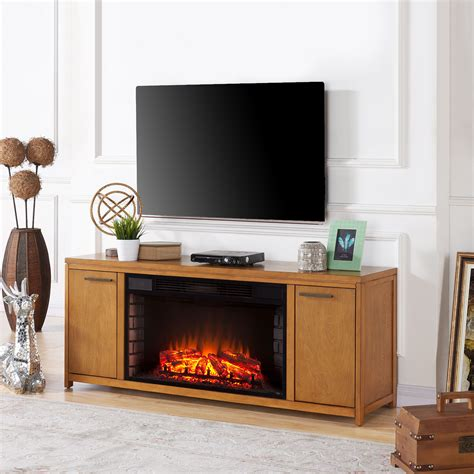 Fireplace Console Tv Stand