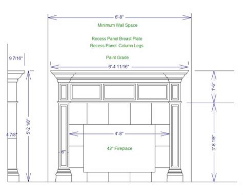Fireplace Mantel Design Plans Pdf
