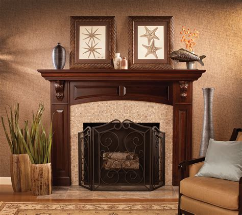 Fireplace Mantel Ideas Wood
