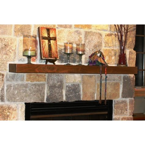 Fireplace Mantel Square Shelf