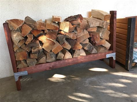 Fireplace Wood Holder Diy
