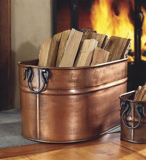 Fireplace Wood Holder Ideas