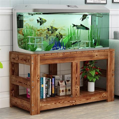 Fish Tank Stand Solid Wood