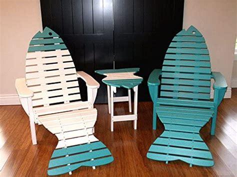Fish-Adirondack-Table-And-Chair