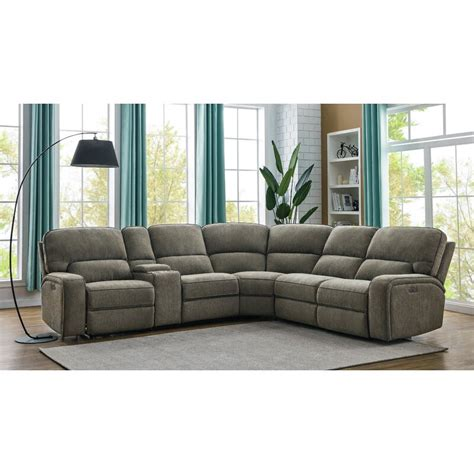 Fisher Reversible Reclining Sectional