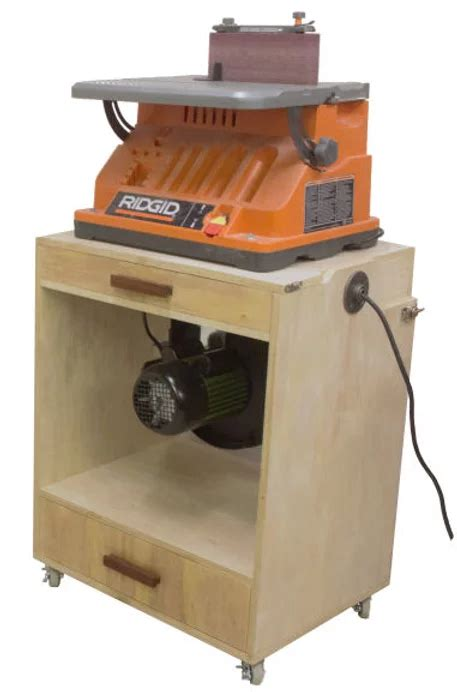Fisher Shop Woodworking Flip Cart