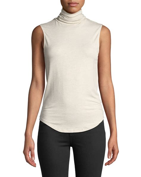f906442d0dd Fitted Turtleneck Top Neiman Marcus.