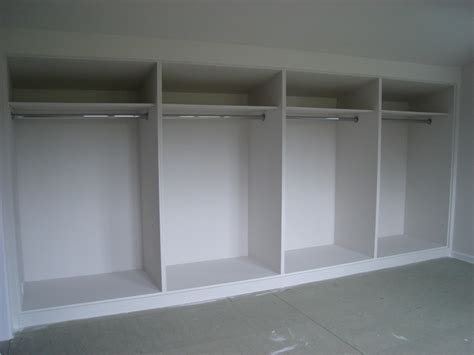 Fitted Wardrobe Frame Plans