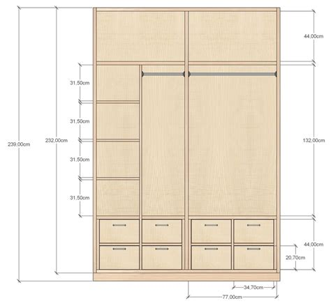 Fitted Wardrobe Plans Pdf