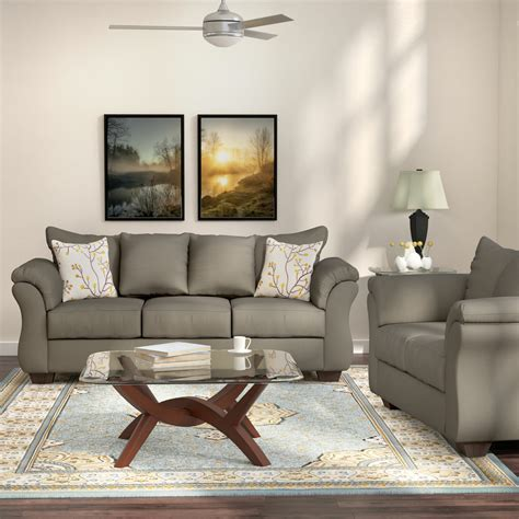 Fitzgerald 2 Piece Living Room Set By Andover Mills