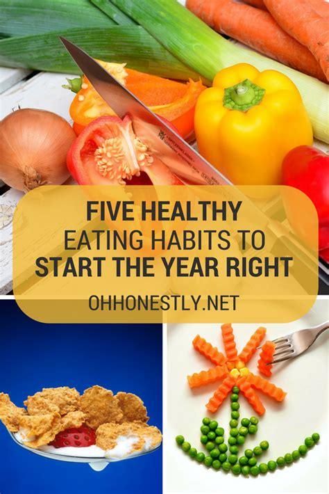 Five Healthy Eating Habits And Healer Baskar Eating Habits