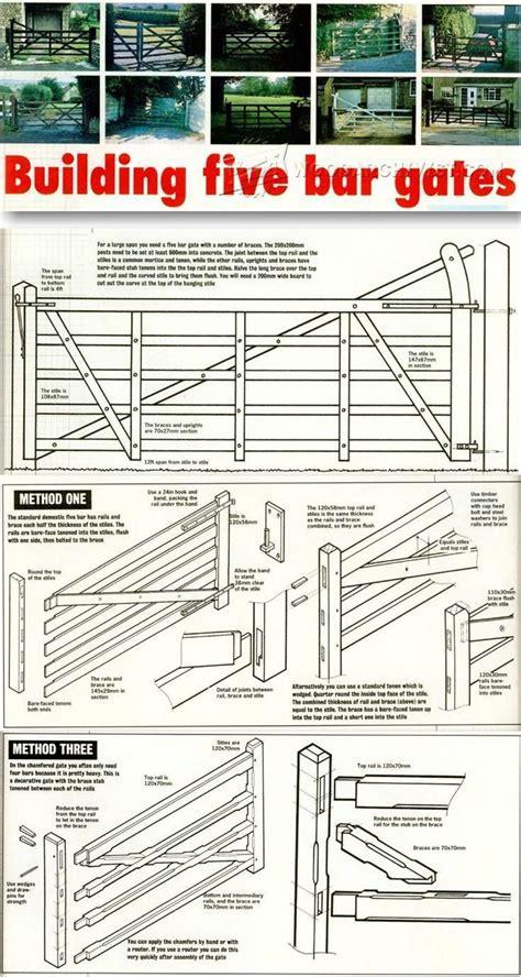 Five-Bar-Gate-Plans