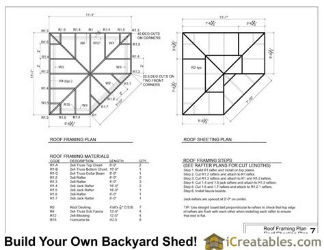 Five-Sided-Shed-Plans