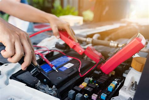Fix Car Battery In Marshall