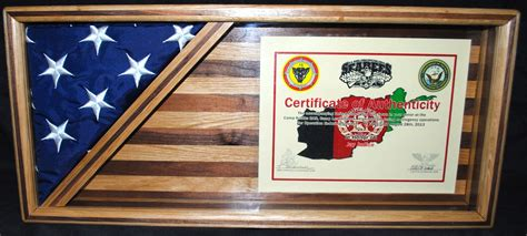 Flag-And-Certificate-Shadow-Box-Plans