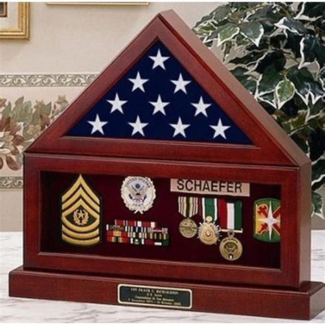 Flag-And-Medal-Display-Case-Plans