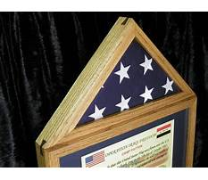 Best Flag display case with certificate holder.aspx