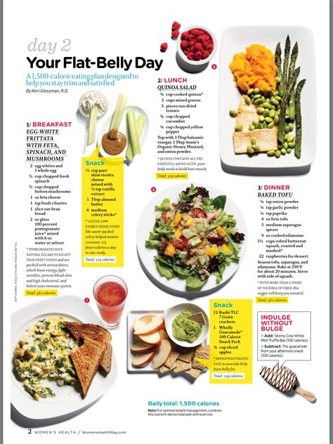 Flat Belly Meal Plan