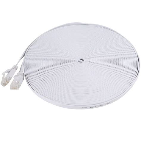 Flat Cat6 Patch Cable - 50ft electronic consumers