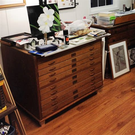 Flat File Cabinet Woodworking Plans