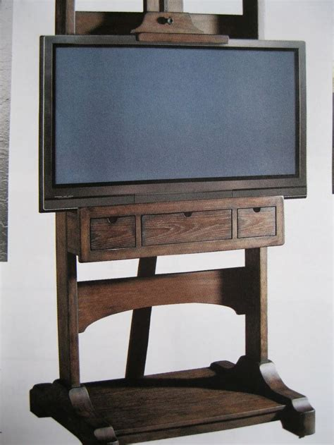 Flat Screen Tv Easel Stand Plans