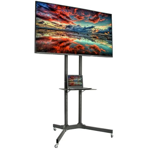 Flat Panel TV Stand With Wheels Image