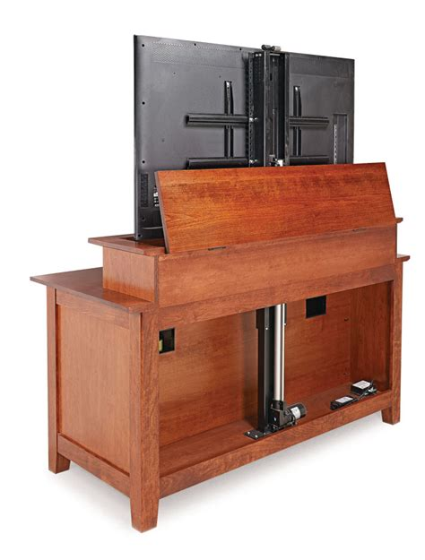 Flat-Screen-Tv-Lift-Cabinet-Plans