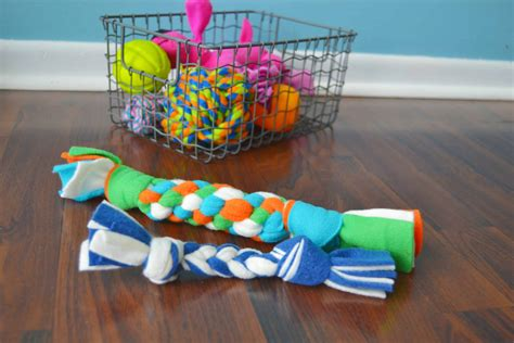 Fleece Diy Dog Toys