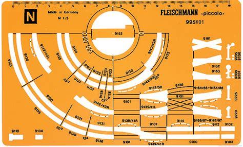 Fleischmann-N-Gauge-Track-Plans