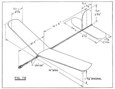 Flicka-Balsa-Wood-Glider-Plans