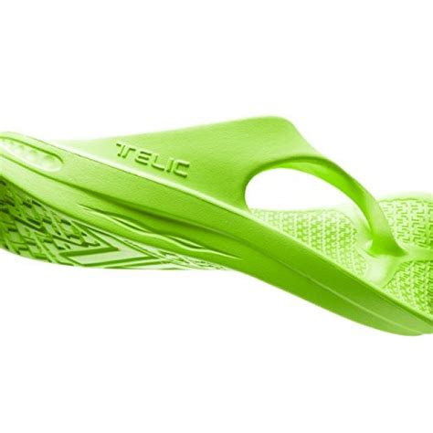 Flip Flop Sandal Shoes by Color Key Lime Various Sizes