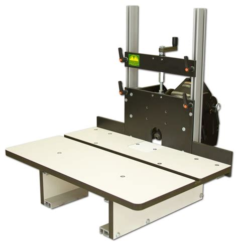 Flip Up Horizontal Router Table