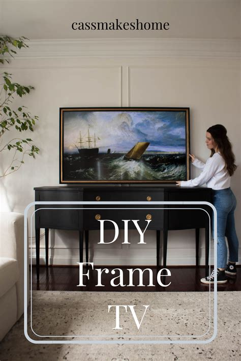 Flip Up Tv Frame Diy Designs