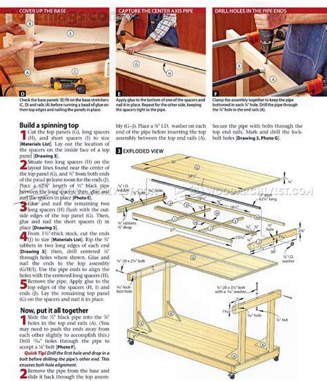 Flip-Top-Tool-Bench-Plans