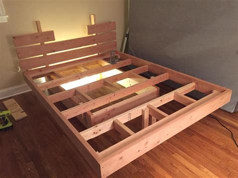Floating Bed Wood Plans