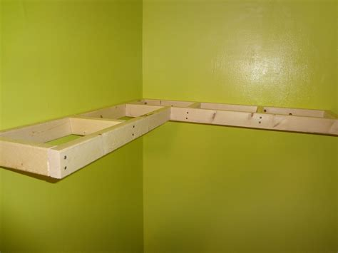 Floating Corner Shelf Plans