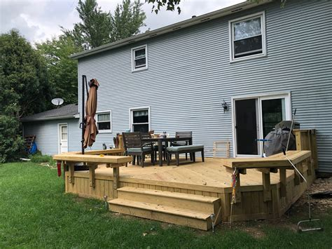 Floating Deck Bench Plans
