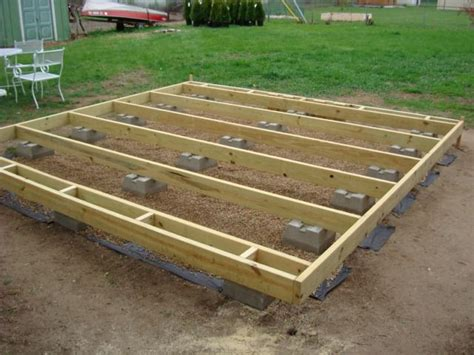 Floating Deck Plans 12x20