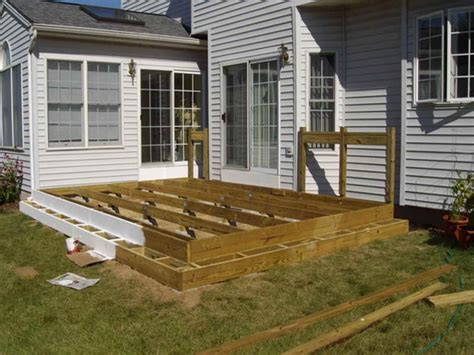 Floating Deck Plans 30 X 30