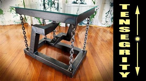 Floating End Table Diy With Wire