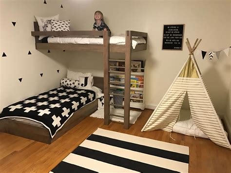 Floating Loft Bed Diy Kids