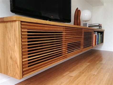 Floating Media Console Plans