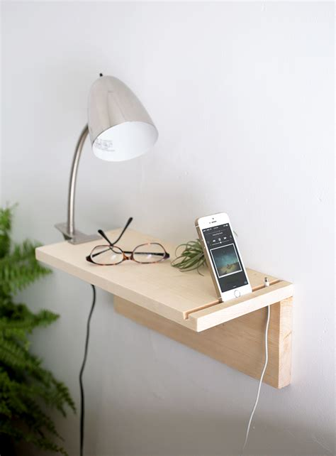 Floating Night Table Diy