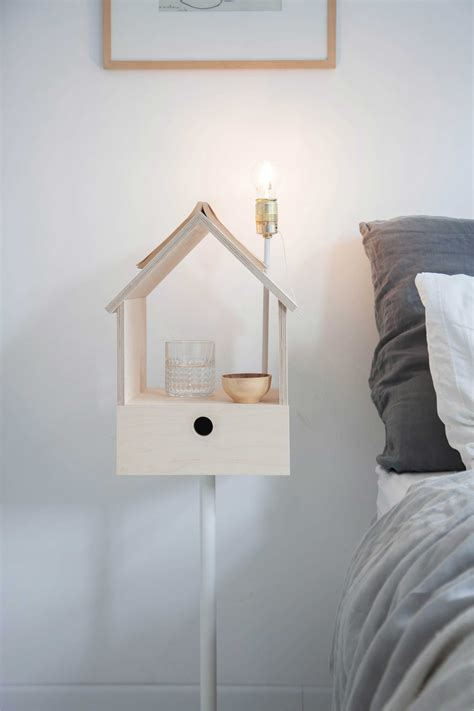 Floating Nightstand With Light Diy
