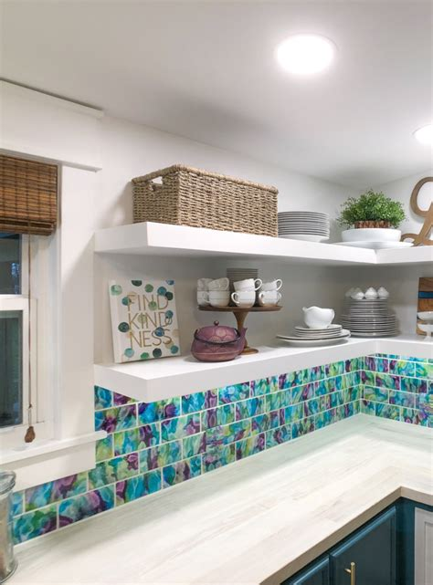 Floating Pantry Shelves Diy