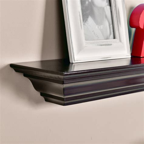 Floating Shelves With Crown Molding