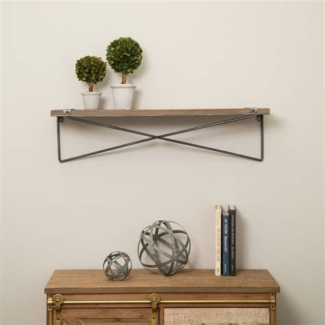 Floating Wall Shelfs Metal And Wood Plans