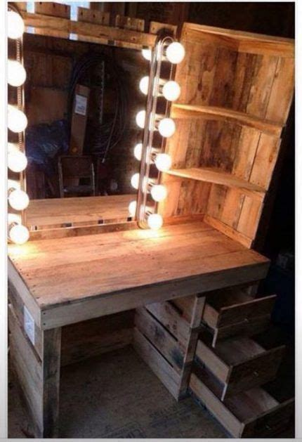 Floating Wood Vanity Diy Makeup