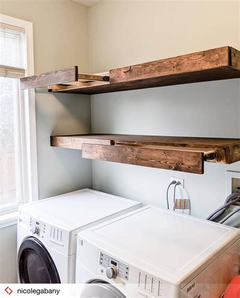 Floating-Shelve-Pull-Out-Drying-Rack-Diy