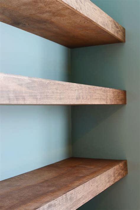 Floating-Timber-Shelf-Diy
